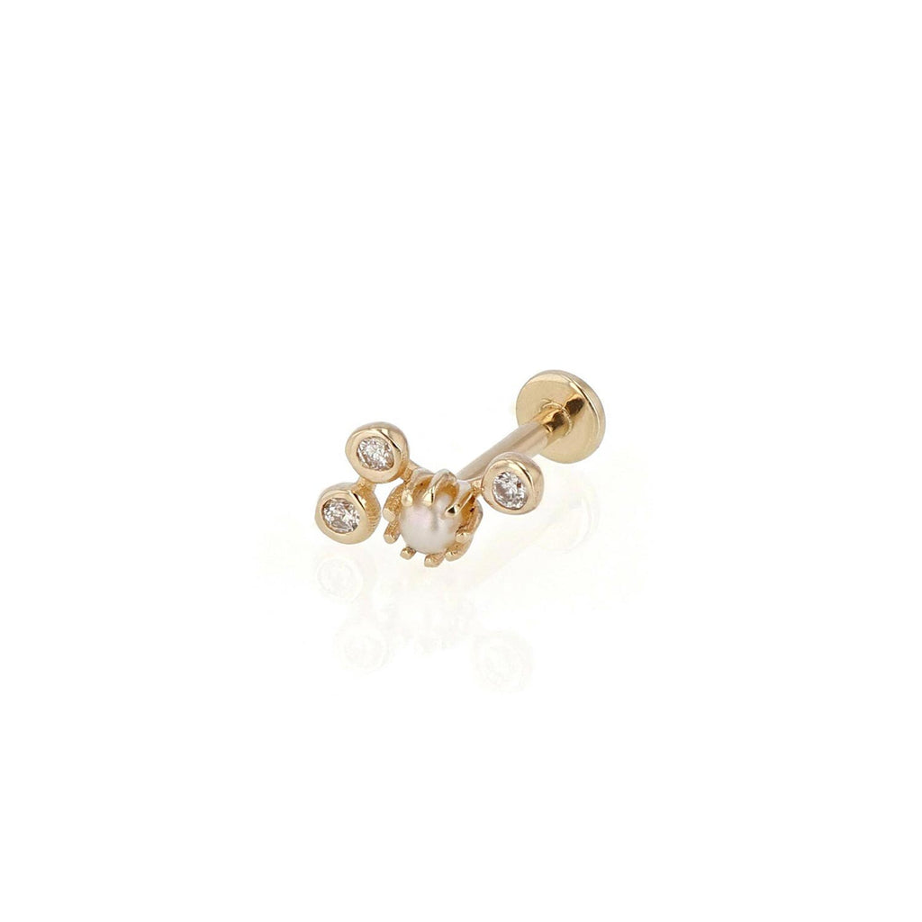 Lucid Diamond Cartilage Earring