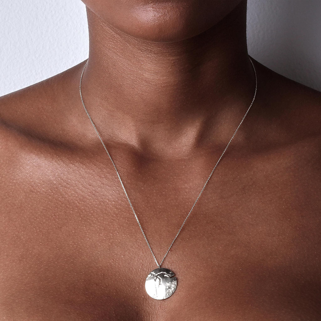Chasm Disc Necklace