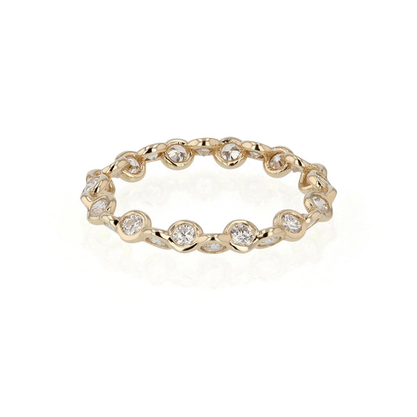 Diamond Ring Yellow Gold | SARAH & SEBASTIAN