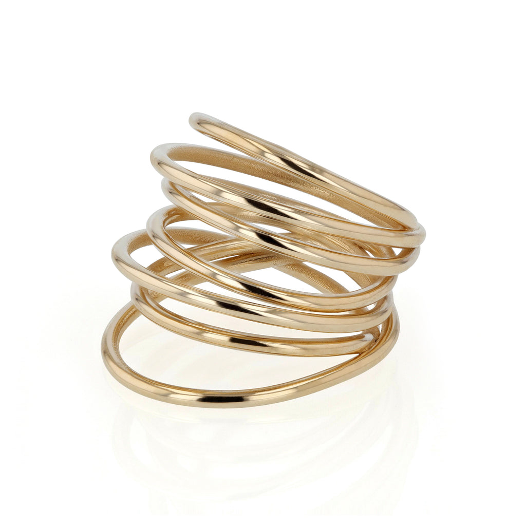 Entangled Ring | Vermeil