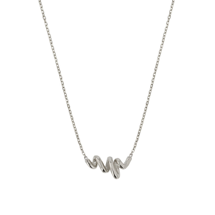 Fine Bound Necklace Silver | Sarah & Sebastian