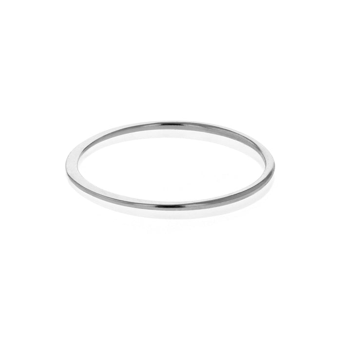 Forge Fine Stackable Ring Silver Sarah & Sebastian