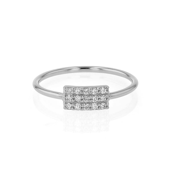Ice Diamond Fine Ring White Gold | Sarah & Sebastian