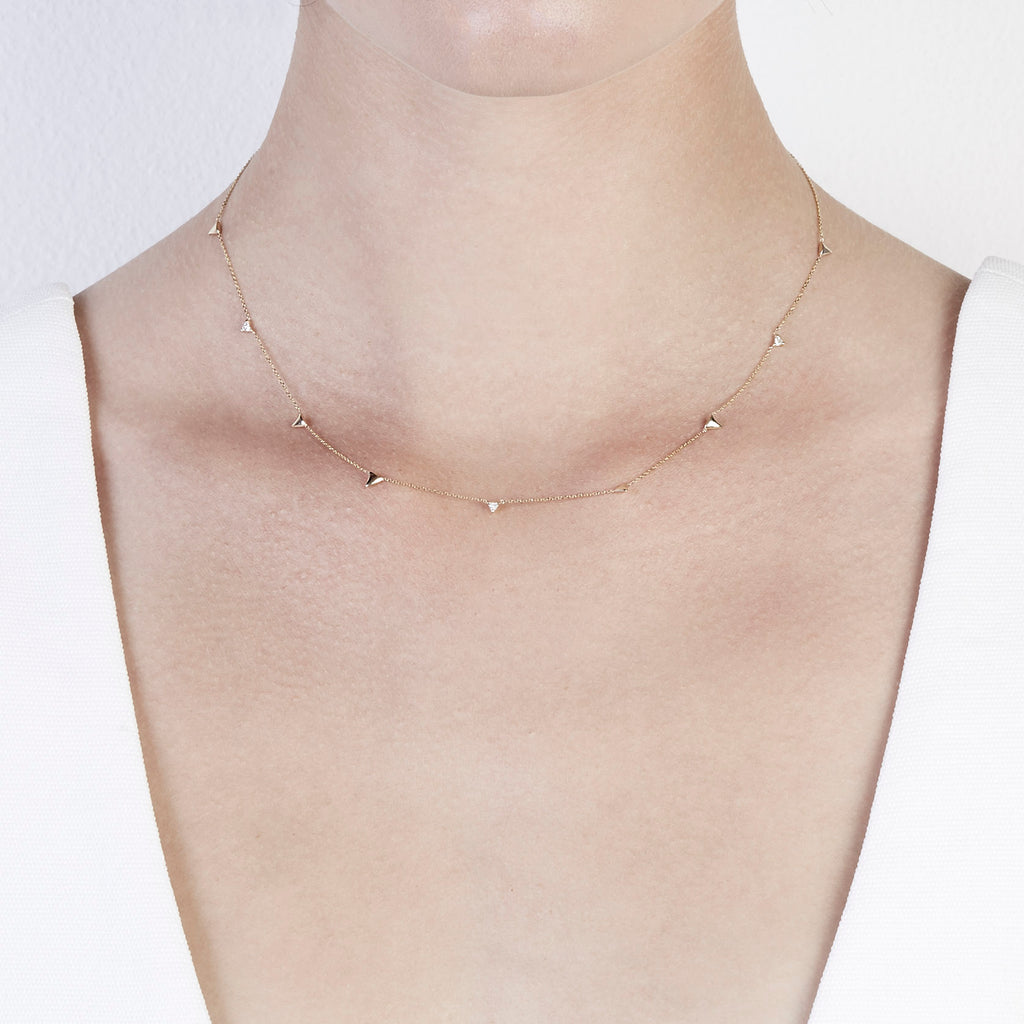 Multi Sepal Necklace