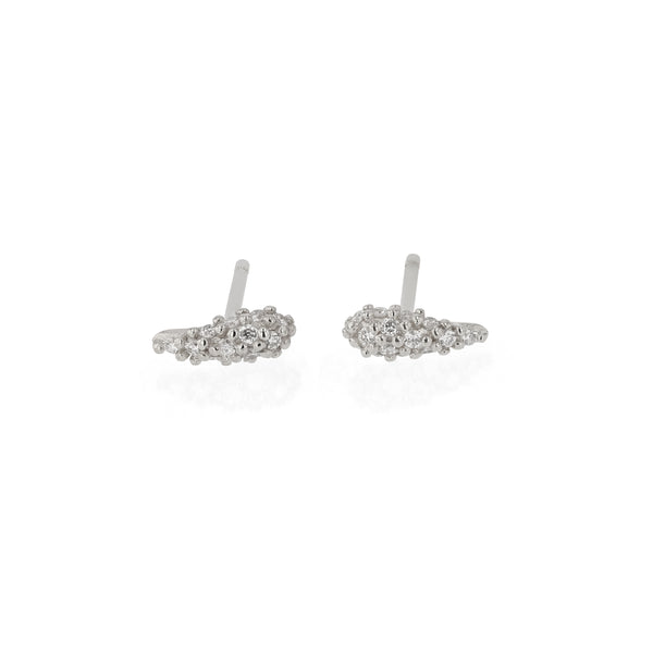 Nudi Pavé Earrings