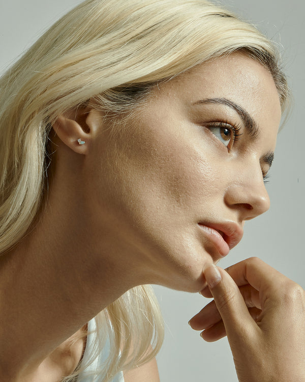 Nymph Diamond Earring I Gold | Sarah & Sebastian onBody