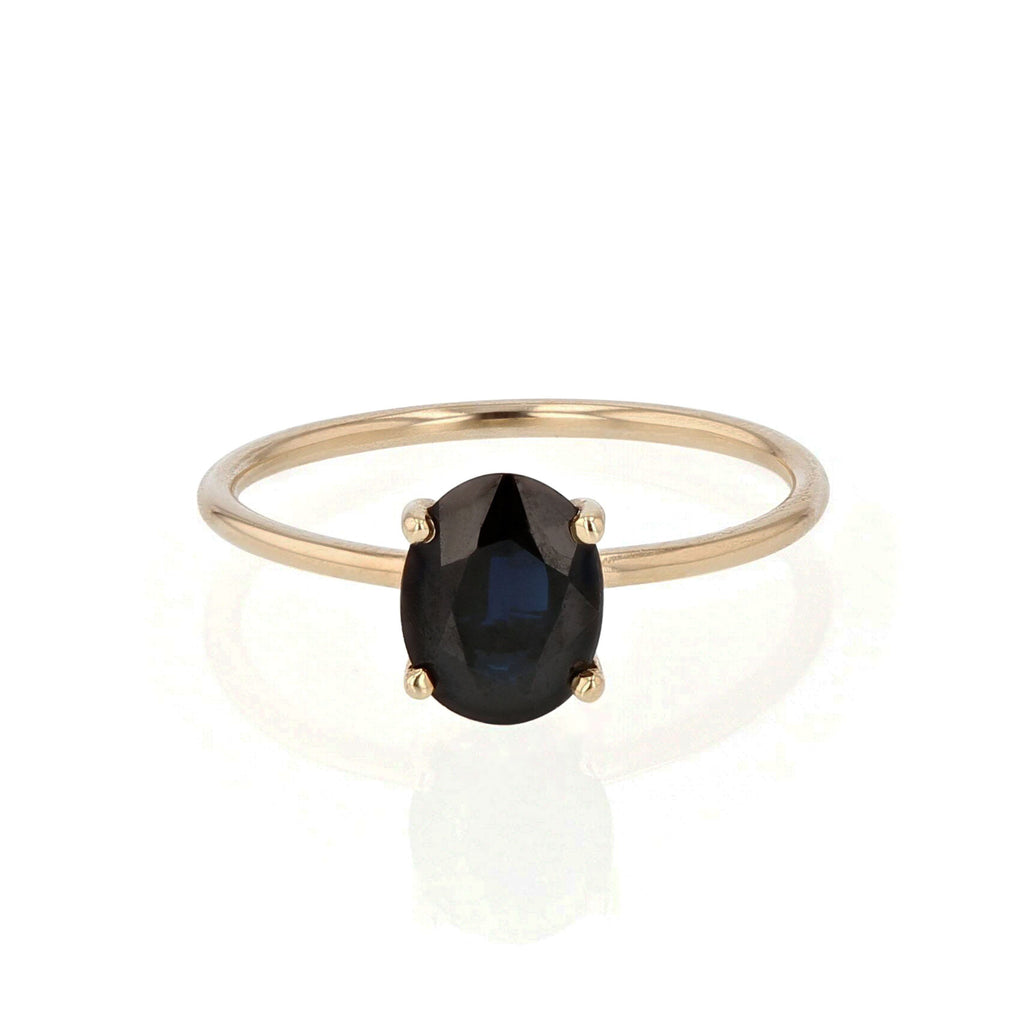 Oval Pin Ring