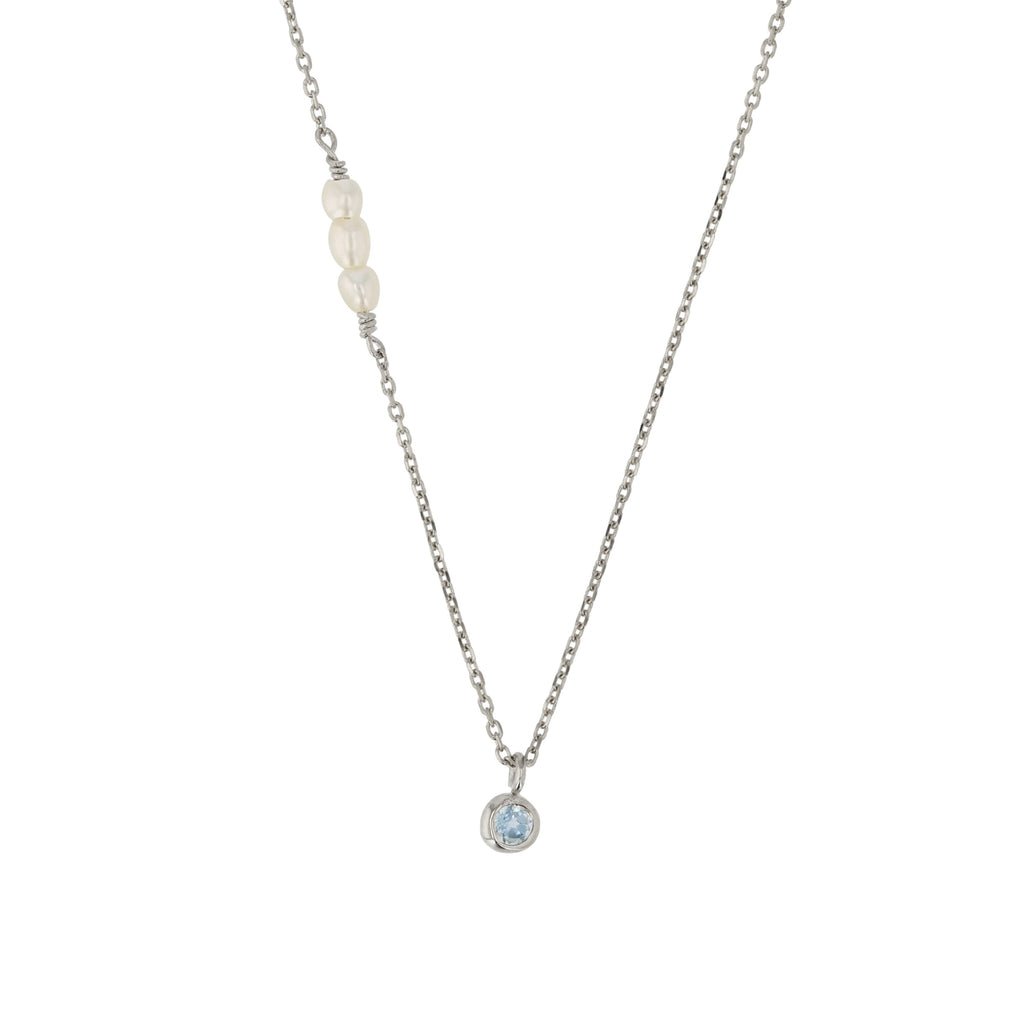 Pearl Stone Necklace