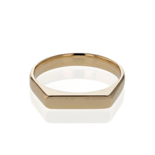 Plain Unity Ring Gold | Sarah & Sebastian