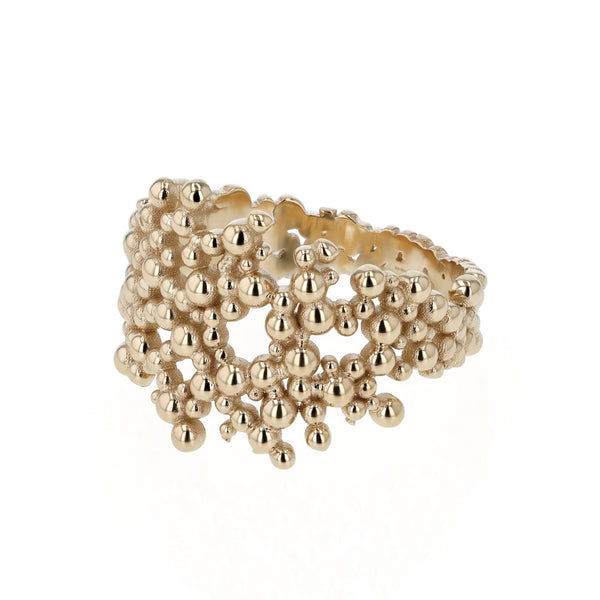 Papilla Band Ring Gold | Sarah & Sebastian
