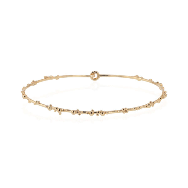 Fine Papilla Bangle Gold | Sarah & Sebastian