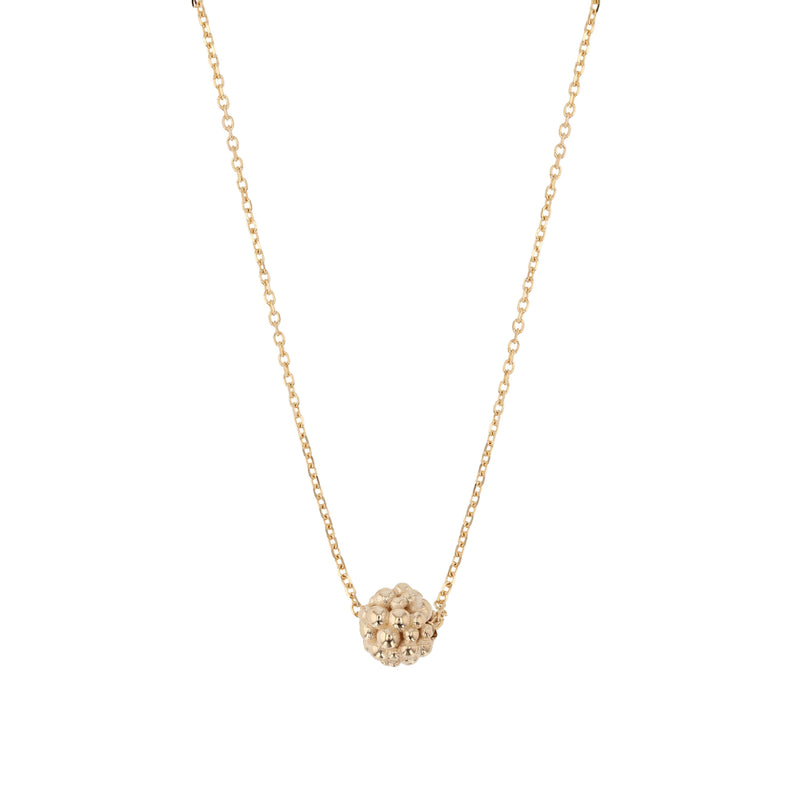 Fine Papilla Bead Necklace Gold | Sarah & Sebastian