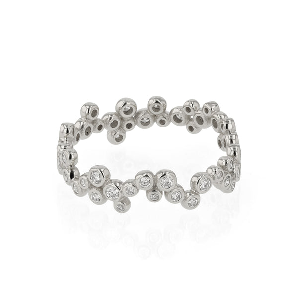 Papilla Diamond Ring White Gold | Sarah & Sebastian