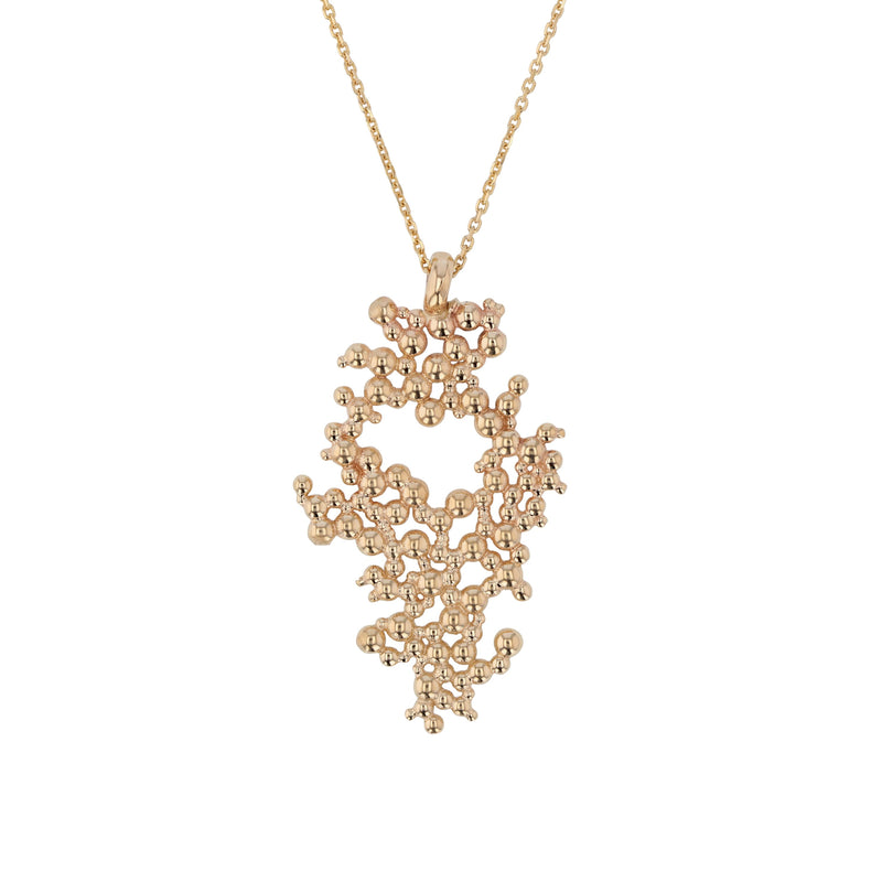 Statement Papilla Necklace Gold | Sarah & Sebastian