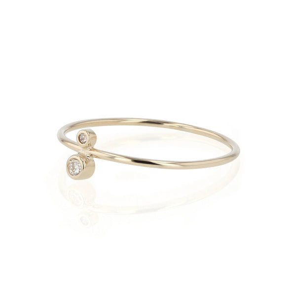 Fine Paradox Diamond Ring Yellow Gold | Sarah & Sebastian