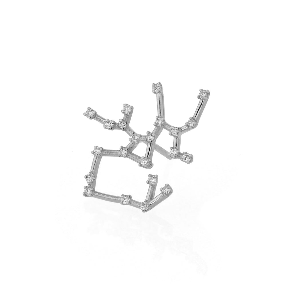 Single Celestial Sagittarius Earring