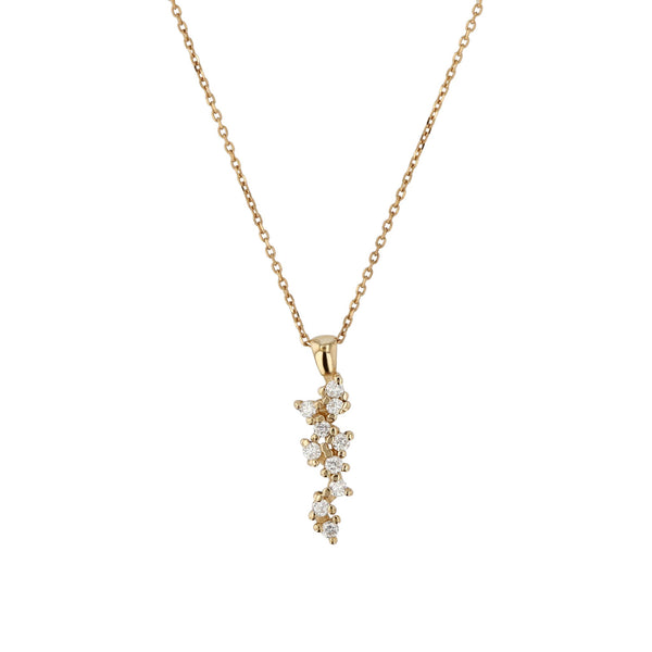 Stellar Diamond Pendant Necklace | SARAH & SEBASTIAN