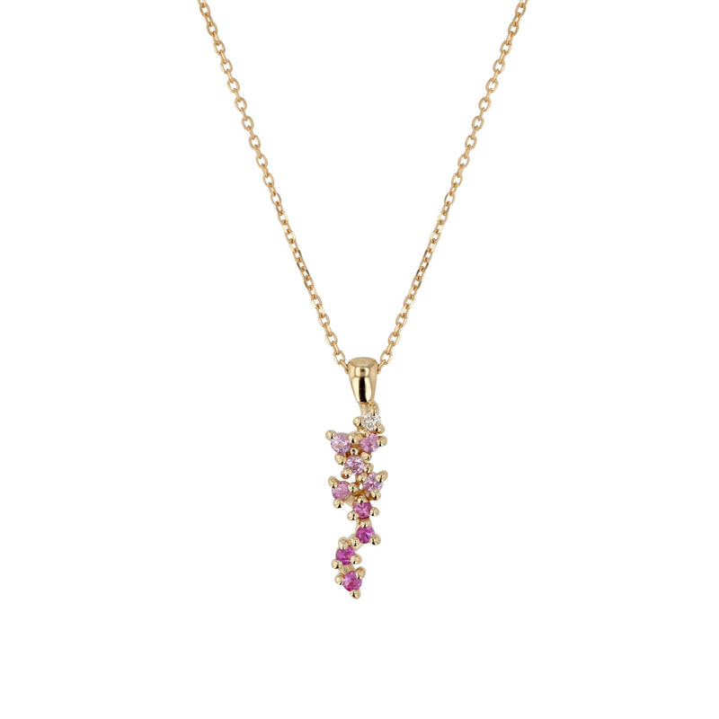 Stellar Pendant Necklace Yellow Gold | SARAH & SEBASTIAN