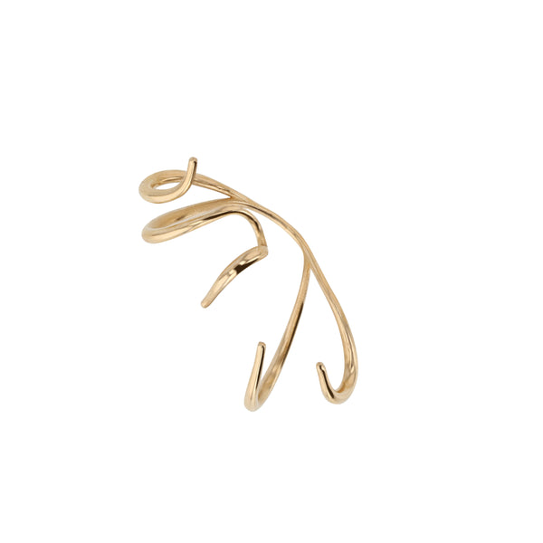 Statement Large Stinger Earrings Vermeil | Sarah & Sebastian