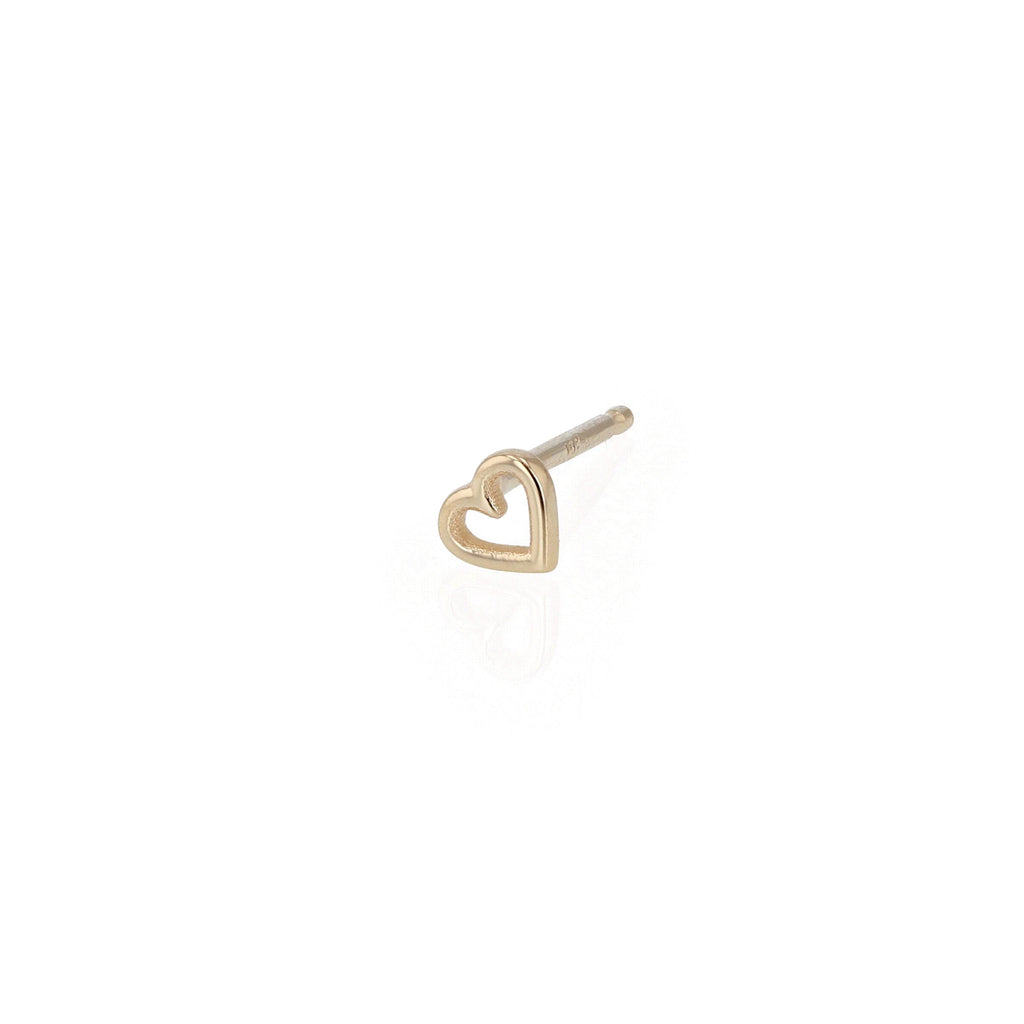 Tiny Heart Earring