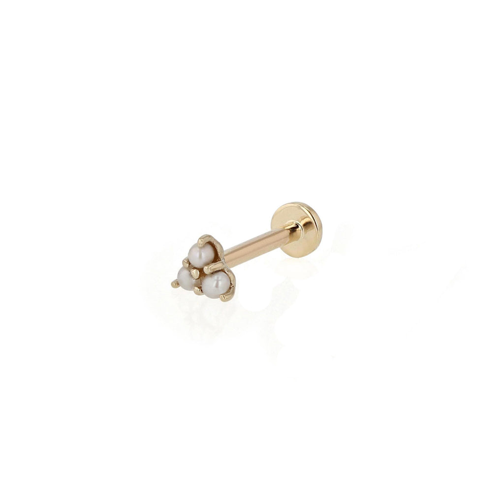 Trio Pearl Cartilage Earring