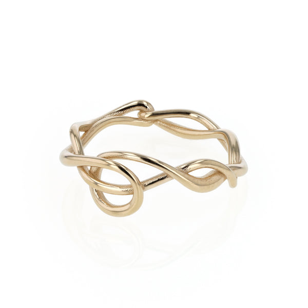 Tendril Ring Gold | Sarah & Sebastian
