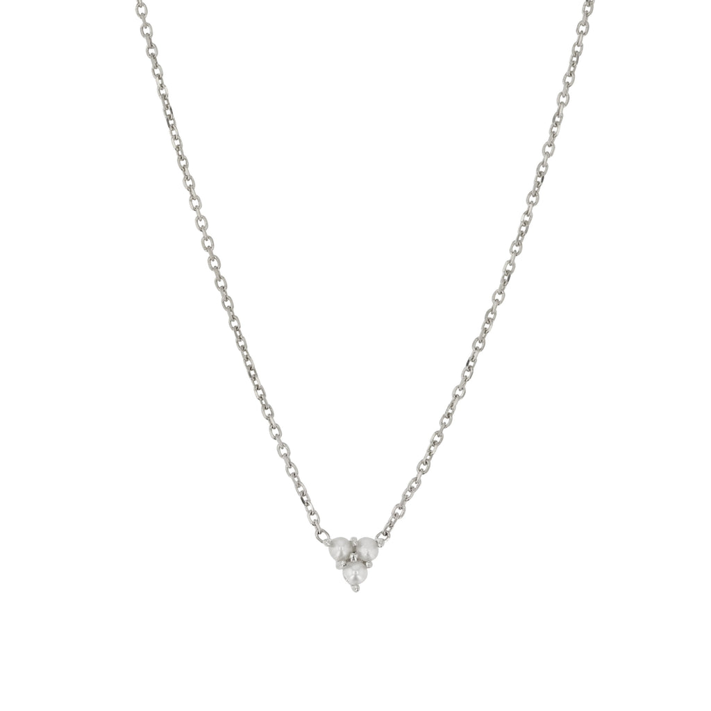 Trio Pearl Necklace