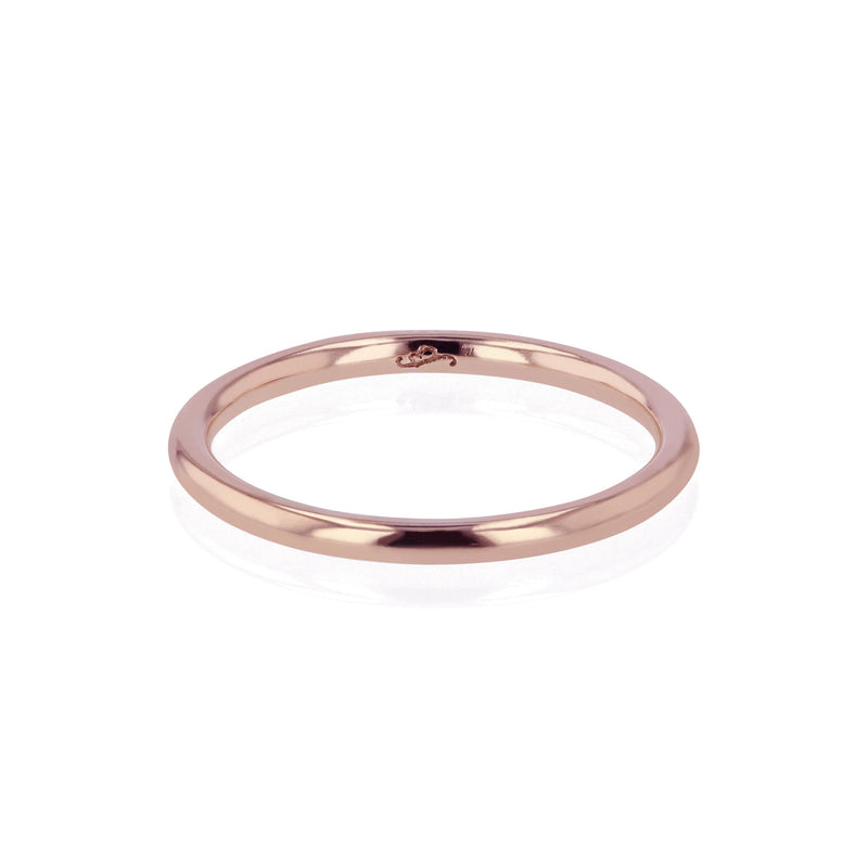 Wedding Band | Bold Round