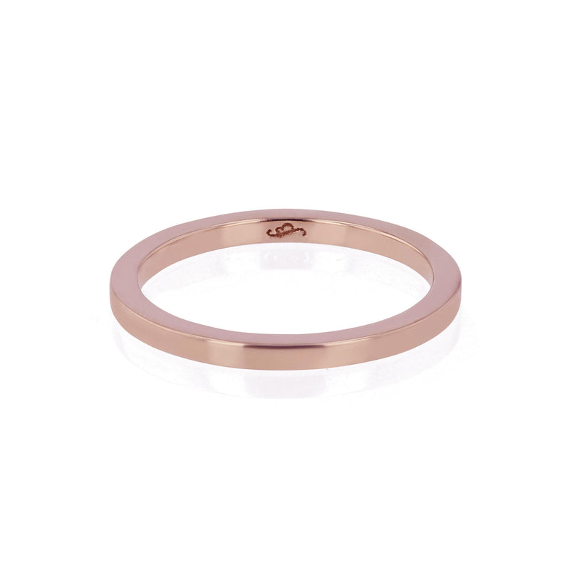 Wedding Band | Bold Square