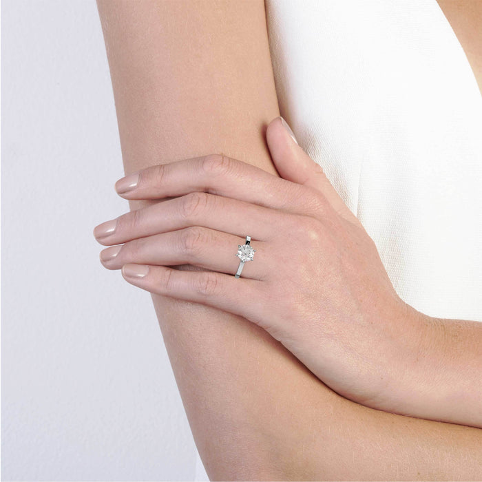 The WHITE Engagement Ring