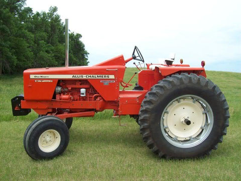 Allis Chalmers Model 190xt Tractor Full Service Repair