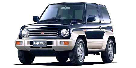 1996 Mitsubishi Pajero Junior ZR-II WORKSHOP SERVICE REPAIR MANUAL