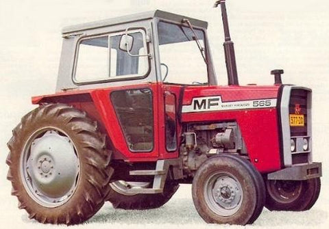 Massey Ferguson MF500 Series Tractor Workshop Service Repair Manual
