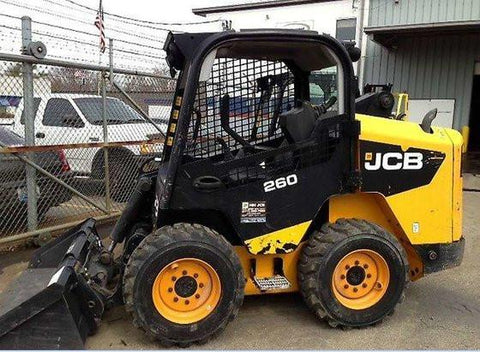 2011 JCB 260 SKID STEER LOADER OPERATOR MANUAL