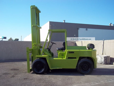 CLARK E357 FORKLIFT SERVICE REPAIR MANUAL