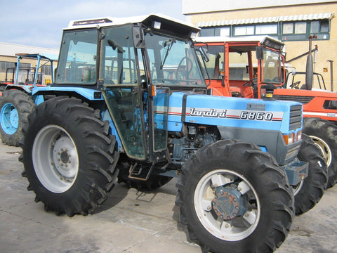 landini Evolution 6860 Tractor Workshop Service Repair Manual