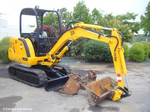 JCB 802 802.4 802super Mini Excavator Service Repair Workshop Manual INSTANT DOWNLOAD