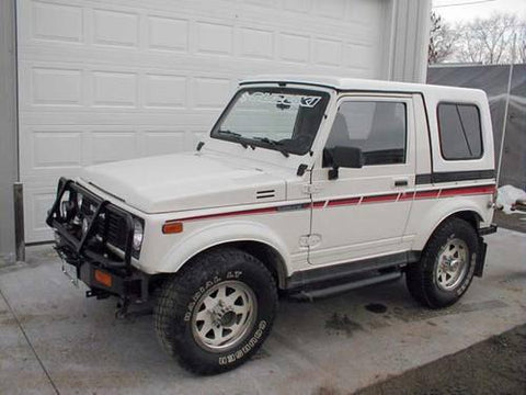 1987 SUZUKI SAMURAI SERVICE REPAIR MANUAL DOWNLOAD!!!