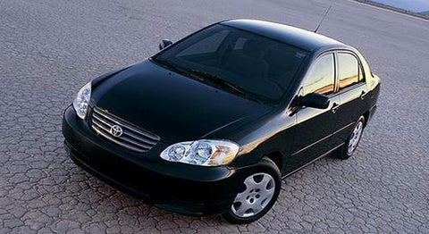 2004 TOYOTA COROLLA SERVICE REPAIR MANUAL DOWNLOAD!!!