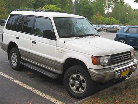 1984 MITSUBISHI MONTERO SERVICE REPAIR MANUAL DOWNLOAD!!!