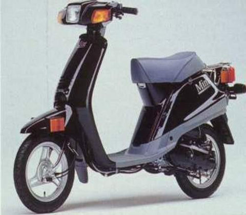 1987 Yamaha SH50 Scooter Workshop Repair Service Manual PDF Download
