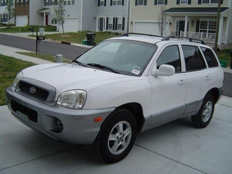 2000 HUYNDAI SANTA FE SERVICE REPAIR MANUAL DOWNLOAD!!!