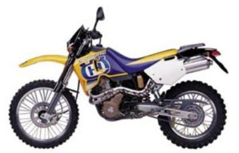 1998-2000 Husqvarna Te410e, Te610e, Te610elt, Sm610s Motorcycle Workshop Service Repair Manual