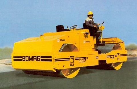 Bomag 220 AD Roller Spare Part's Manual Download