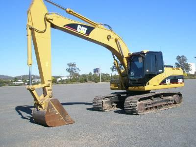 Caterpillar CAT 320D Parts Manual