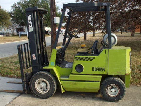 CLARK EWP45 FORKLIFT SERVICE REPAIR MANUAL