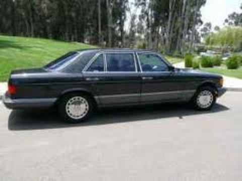 1989 Mercedes 560SEL Complete Service Repair Manual