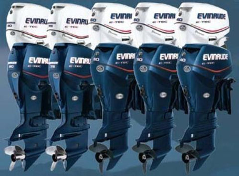 1956-2001 Johnson Evinrude 1.25HP-235HP All Outboard Service Repair Workshop Manual DOWNLOAD