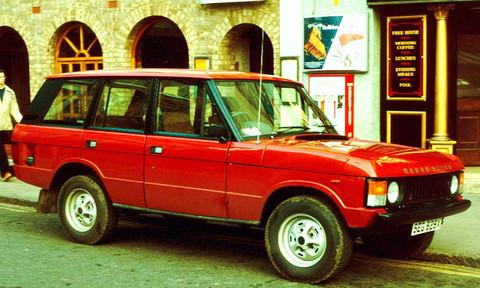 1970-1985 LAND ROVER 2 & 4 DOOR RANGE ROVER CLASSIC REPAIR MANUAL