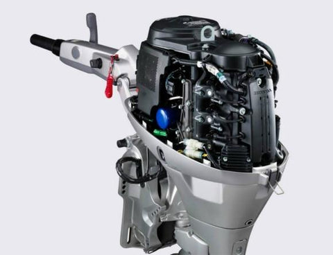 Honda g65 g80 horizontal shaft engine repair manual for Best way to store an outboard motor